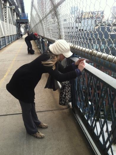 Me Manhattan Bridge